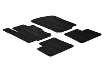 Резиновые коврики Gledring для Mercedes-Benz M-Class / GLE-Class (W166) 2011→ / (C292) 2014→ — фото