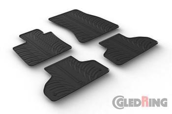 Резиновые коврики Gledring для BMW X5 (F15) 2013→ — фото