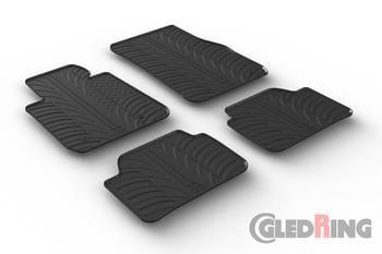 Резиновые коврики Gledring для BMW 1-series (F20) 2011-2015 — фото