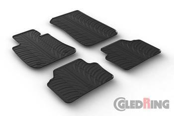 Резиновые коврики Gledring для BMW 3-series (E90/E91) 2005-2012 — фото