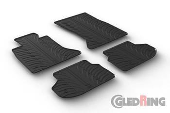 Резиновые коврики Gledring для BMW 5-series (F10/F11) 2010-2017 — фото