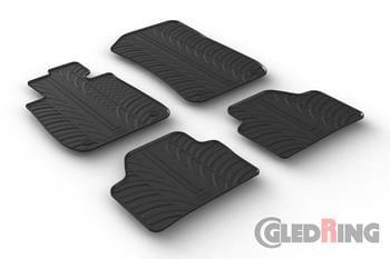 Резиновые коврики Gledring для BMW X1 (E84) 2009-05.2015 — фото
