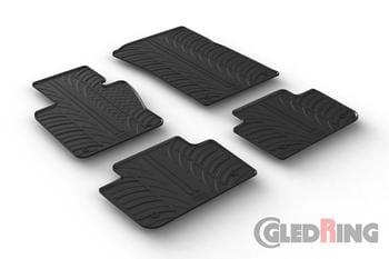 Резиновые коврики Gledring для BMW X3 (E83) 2004-2009 — фото