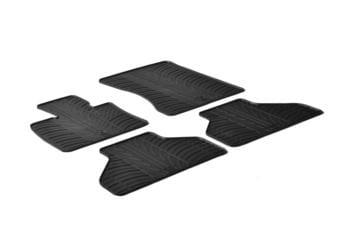 Резиновые коврики Gledring для BMW X5 (E70) 2006-2012 — фото