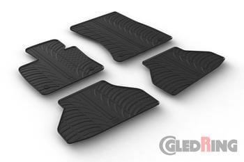 Резиновые коврики Gledring для BMW X6 (E71) 2008-2014 — фото