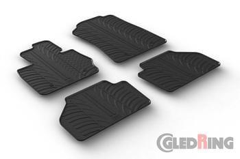 Резиновые коврики Gledring для BMW X3 (F25) 2010-2017 — фото