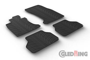 Резиновые коврики Gledring для BMW 5-series (E60/E61) 2004-2009  — фото
