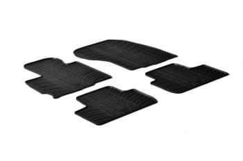 Резиновые коврики Gledring для Mitsubishi ASX 2009→ / Citroen C4 Aircross 2012→ — фото