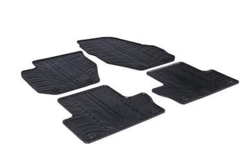 Резиновые коврики Gledring для Volvo XC60 (mkI) 2008-2017 — фото