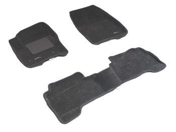Двухслойные коврики Sotra 3D Classic 8mm Grey для Ford Kuga (mkII) 2013→ — фото