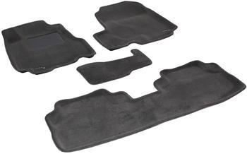 Двухслойные коврики Sotra 3D Premium 12mm Grey для Honda CR-V (mkIII) 2007-2012 — фото