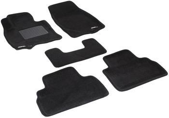 Двухслойные коврики Sotra 3D Premium 12mm Black для Infiniti QX70 / FX35 (mkII) 2009→ — фото