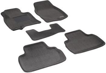 Двухслойные коврики Sotra 3D Premium 12mm Grey для Infiniti QX70 / FX35 (mkII) 2009→ — фото