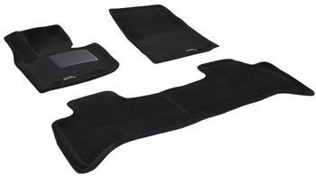 Двухслойные коврики Sotra 3D Premium 12mm Black для Land Rover Range Rover (Vogue) 2010→ — фото