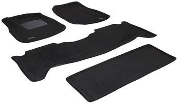 Двухслойные коврики Sotra 3D Premium 12mm Black для Lexus LX470 (mkII) 2002-2007 — фото