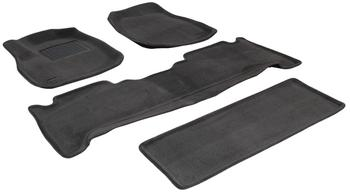 Двухслойные коврики Sotra 3D Premium 12mm Grey для Lexus LX470 (mkII) 2002-2007 — фото
