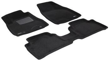 Двухслойные коврики Sotra 3D Premium 12mm Black для Lexus RX330/350 (mkII) 2003-2009 — фото