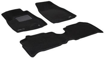 Двухслойные коврики Sotra 3D Premium 12mm Black для Lexus RX330 (mkII) 2004-2006 — фото
