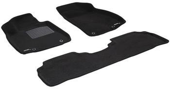 Двухслойные коврики Sotra 3D Premium 12mm Black для Lexus RX270/350/450H (mkIII) 2012-2015 — фото