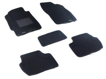 Двухслойные коврики Sotra 3D Classic 8mm Black для Mitsubishi Lancer (mkX) 2007-2017 — фото