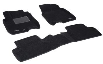 Двухслойные коврики Sotra 3D Classic 8mm Black для Nissan Qashqai (mkI) 2007-2013 — фото