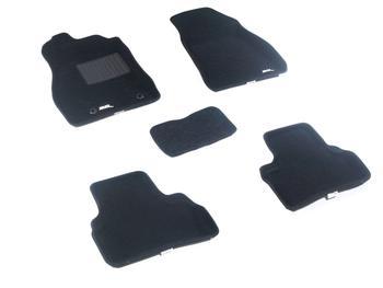 Двухслойные коврики Sotra 3D Classic 8mm Black для Nissan Juke 2010→ — фото