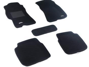 Двухслойные коврики Sotra 3D Classic 8mm Black для Subaru Legacy (mkIV) 2003-2009 — фото