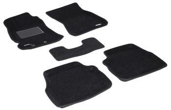 Двухслойные коврики Sotra 3D Classic 8mm Black для Subaru Forester (mkIII) 2009-2012 — фото