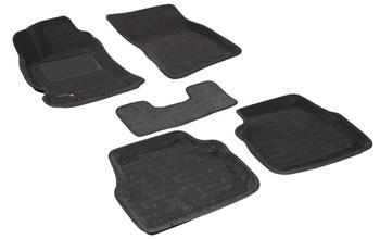 Двухслойные коврики Sotra 3D Classic 8mm Grey для Subaru Forester (mkIII) 2009-2012 — фото