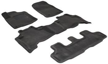 Двухслойные коврики Sotra 3D Premium 12mm Grey для Toyota Land Cruiser Prado (J150) 2010-2011 — фото