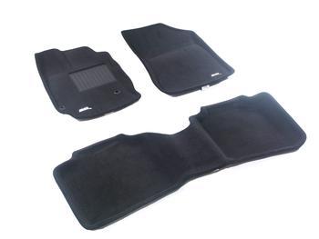 Двухслойные коврики Sotra 3D Premium 12mm Black для Toyota Venza 2013→ — фото