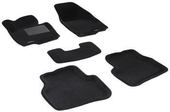 Двухслойные коврики Sotra 3D Premium 12mm Black для Volkswagen Passat (B7) 2011→ — фото