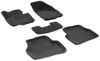 Двухслойные коврики Sotra 3D Premium 12mm Grey для Volkswagen Passat (B7) 2011→ — фото