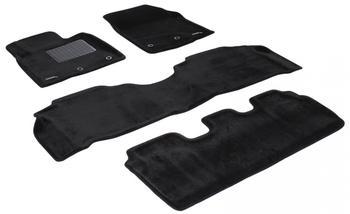 Двухслойные коврики Sotra 3D Royal Black для Lexus LX570 (mkIII) 2012→ — фото
