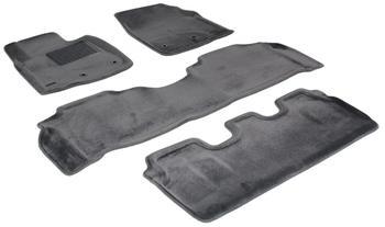 Двухслойные коврики Sotra 3D Royal Grey для Lexus LX570 (mkIII) 2012→ — фото