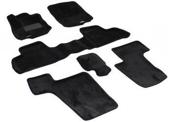 Двухслойные коврики Sotra 3D Royal Black для Mercedes-Benz GL-Class (X166) 2012→ — фото