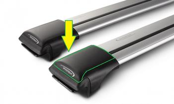 Крышки для поперечин Whispbar Rail SP111 (4 шт) — фото