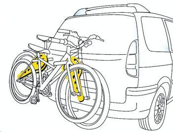 Разделитель AutoMaxi 330570 Bike Protect 2 — фото