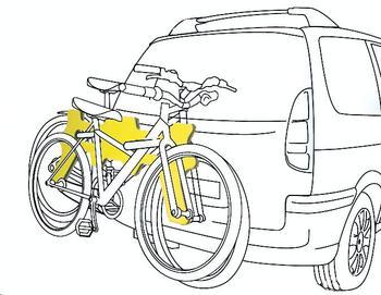 Разделитель AutoMaxi 330560 Bike Protect 1  — фото