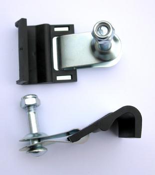 Крючки с резинкой Peruzzo 955 Rigid Top Fixing  Brackets — фото