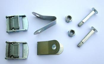 Пряжки стальные Peruzzo 398 Two Steel Buckles — фото
