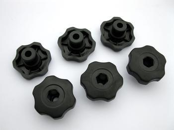 Ручки пластиковые Peruzzo 915 Six Plastic Knobs — фото