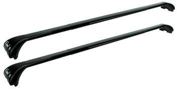 Багажник на рейлинги GeV GeO Black GE 9201-9240 — фото